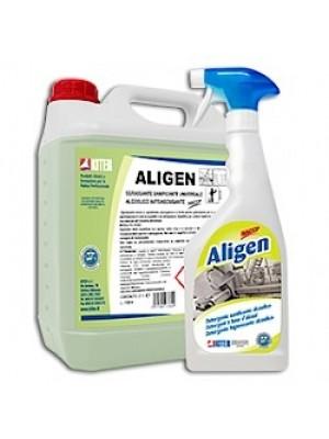 Kiter Aligen Igienizzante sgrassante alcoolico rapido per industria alimentare e HACCP Flacone 750 ML