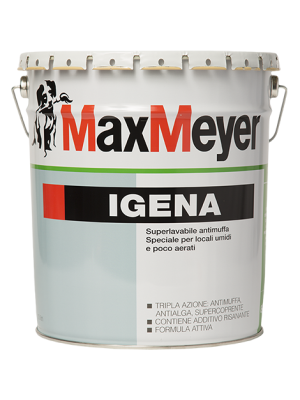 Max Meyer Igena Idropittura Superlavabile Antimuffa 13 LT