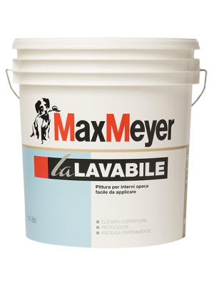 Max Meyer LaLavabile Idropittura murale lavabile 14 Lt