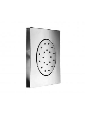 Soffione doccia a parete New in abs Quadro con spigoli  PAFFONI