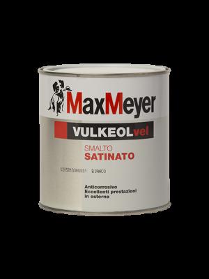 Max Meyer Vulkeol Vel Smalto Satinato Colore Bianco 0.750 LT