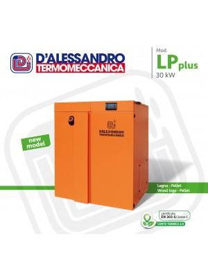 Caldaia a legna/pellet per riscaldamento e produzione di acqua calda D'Alessandro LP Plus 30