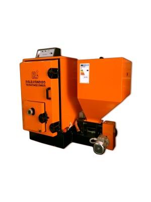 Caldaia a biomassa per alimentazione impianto di riscaldamento e produzione acqua calda sanitaria D'Alessandro CS SMALL (2019) da 30kw