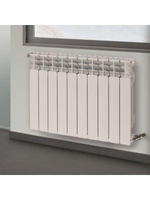 Batteria radiatore in alluminio JET 600 da 10 elementi h 60