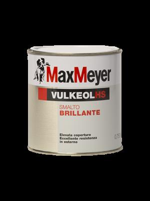 Max Meyer Vulkeol HS Smalto Brillante Colore Bianco 0.750 LT